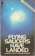 Desmond Leslie & George Adamski: Flying Saucers Have Landed (käytetty)