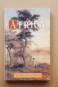 Africa – Myths and Legends - Alice Werner (käytetty)