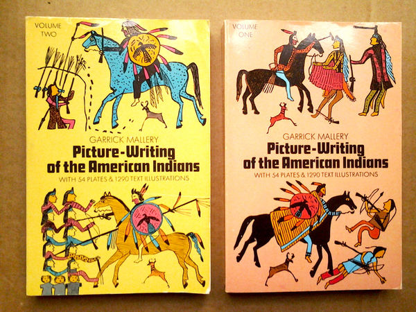 Picture Writing of the American Indians, Vol. 1 + 2 - Garrick Mallery
