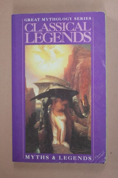 Classical Legends (Great Mythology), A.R.Hope Moncrieff (käytetty)