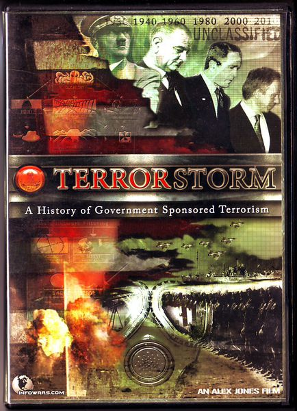 TerrorStorm - A History of Government Sponsored Terrorism (käytetty DVD)