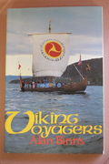 Viking Voyagers Then and Now - Alan Binns (käytetty)