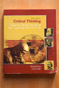 Richard Paul, Linda Elder: Critical Thinking: Tools for Taking Charge of Your Learning and Your Life (käytetty)