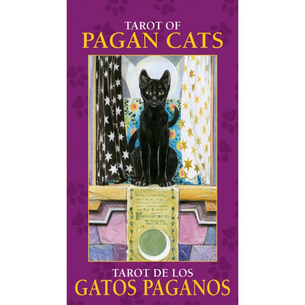 Tarot of Pagan Cats (mini-tarot-kortit)